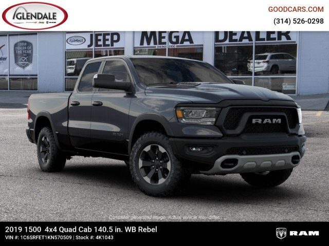 2019 Ram 1500 Quad Cab 4x4,  Pickup #4K1043 - photo 11