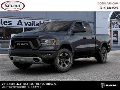 2019 Ram 1500 Quad Cab 4x4,  Pickup #4K1043 - photo 1