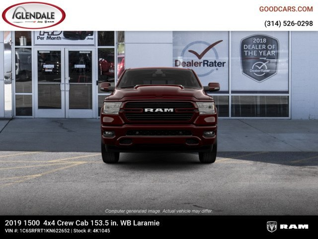 2019 Ram 1500 Crew Cab 4x4,  Pickup #4K1045 - photo 3