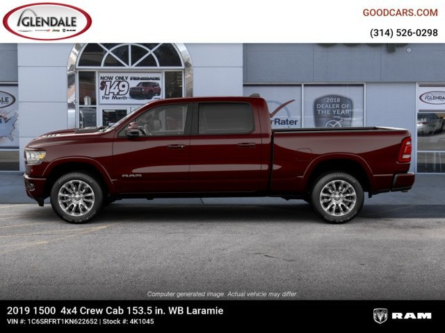 2019 Ram 1500 Crew Cab 4x4,  Pickup #4K1045 - photo 5