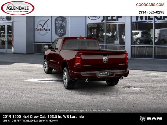 2019 Ram 1500 Crew Cab 4x4,  Pickup #4K1045 - photo 6