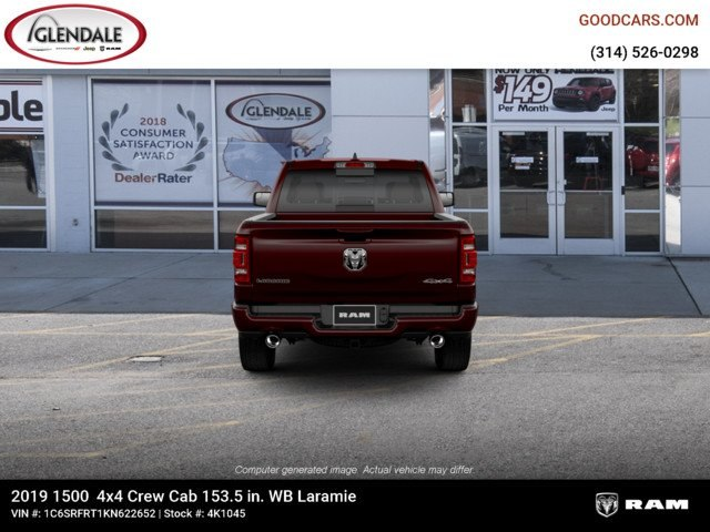 2019 Ram 1500 Crew Cab 4x4,  Pickup #4K1045 - photo 7