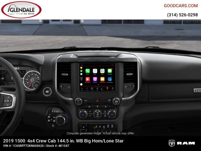 2019 Ram 1500 Crew Cab 4x4,  Pickup #4K1047 - photo 13