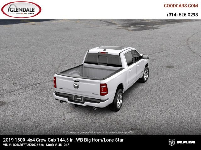 2019 Ram 1500 Crew Cab 4x4,  Pickup #4K1047 - photo 8