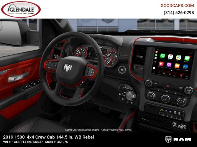 2019 Ram 1500 Crew Cab 4x4,  Pickup #4K1076 - photo 17