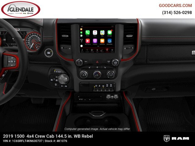 2019 Ram 1500 Crew Cab 4x4,  Pickup #4K1076 - photo 18