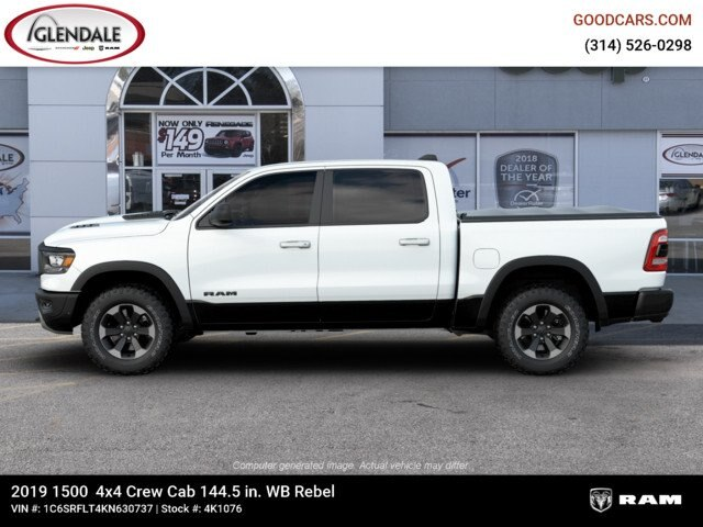 2019 Ram 1500 Crew Cab 4x4,  Pickup #4K1076 - photo 5