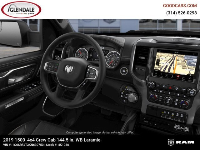 2019 Ram 1500 Crew Cab 4x4,  Pickup #4K1080 - photo 14
