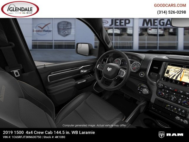 2019 Ram 1500 Crew Cab 4x4,  Pickup #4K1080 - photo 18