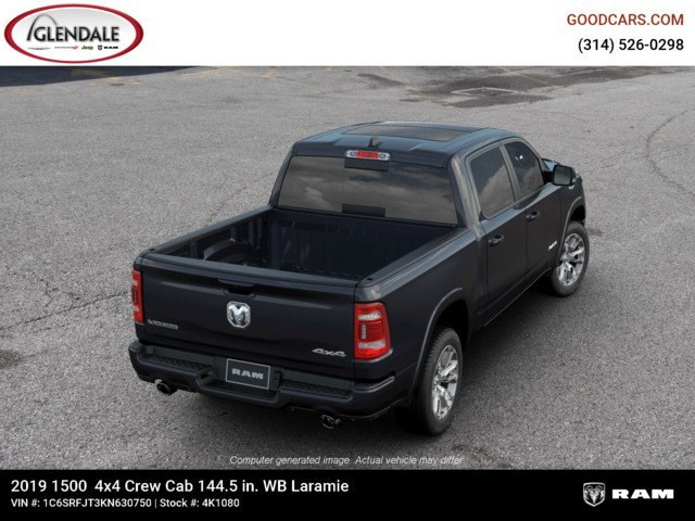 2019 Ram 1500 Crew Cab 4x4,  Pickup #4K1080 - photo 8
