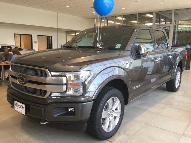 2018 F-150 SuperCrew Cab 4x4,  Pickup #D31752 - photo 4