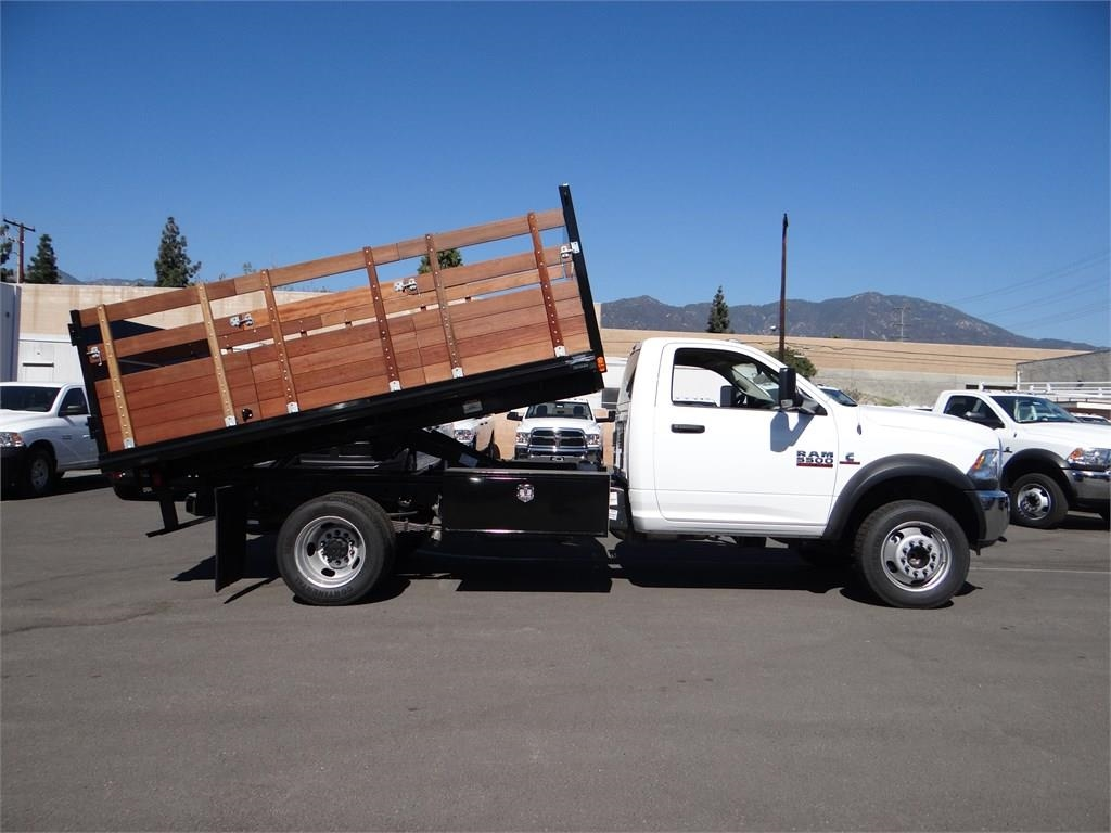 2018 Ram 5500 Regular Cab DRW 4x2,  Martin's Quality Truck Body Landscape Dump #R1503T - photo 3