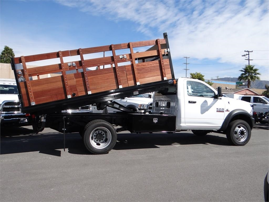 2018 Ram 4500 Regular Cab DRW 4x2,  Martin's Quality Truck Body Landscape Dump #R1585T - photo 2