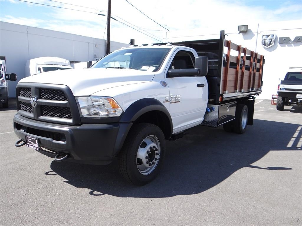 2018 Ram 4500 Regular Cab DRW 4x2,  Martin's Quality Truck Body Landscape Dump #R1585T - photo 6