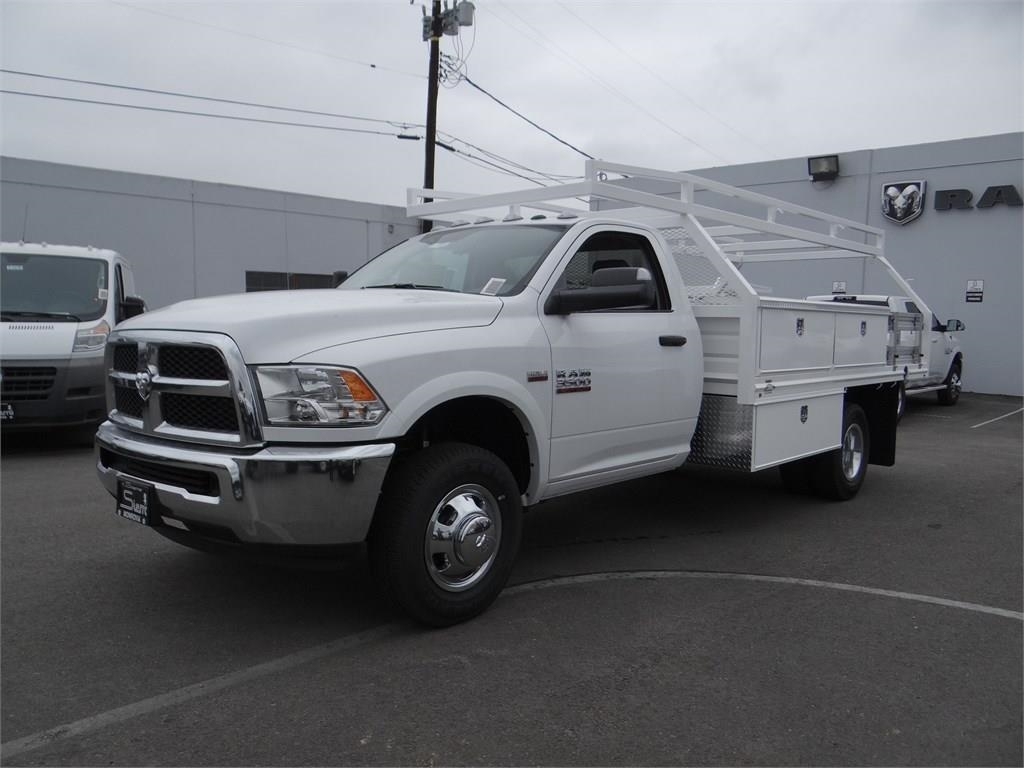 2018 Ram 3500 Regular Cab DRW 4x2,  Martin's Quality Truck Body Contractor Body #R1589T - photo 7