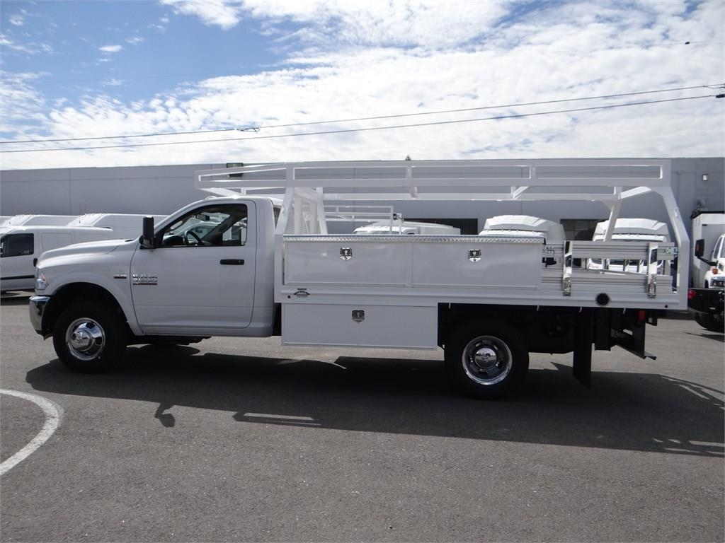 2018 Ram 3500 Regular Cab DRW 4x2,  Martin's Quality Truck Body Contractor Body #R1594T - photo 6