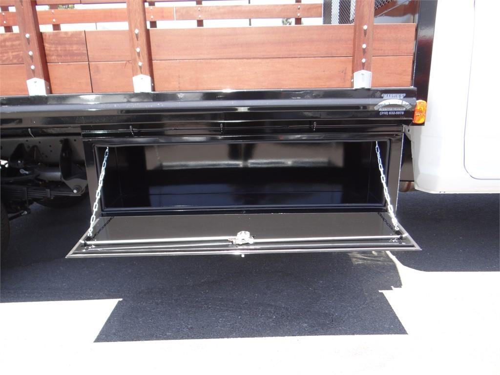 2018 Ram 5500 Regular Cab DRW 4x2,  Martin's Quality Truck Body Stake Bed #R1674T - photo 21