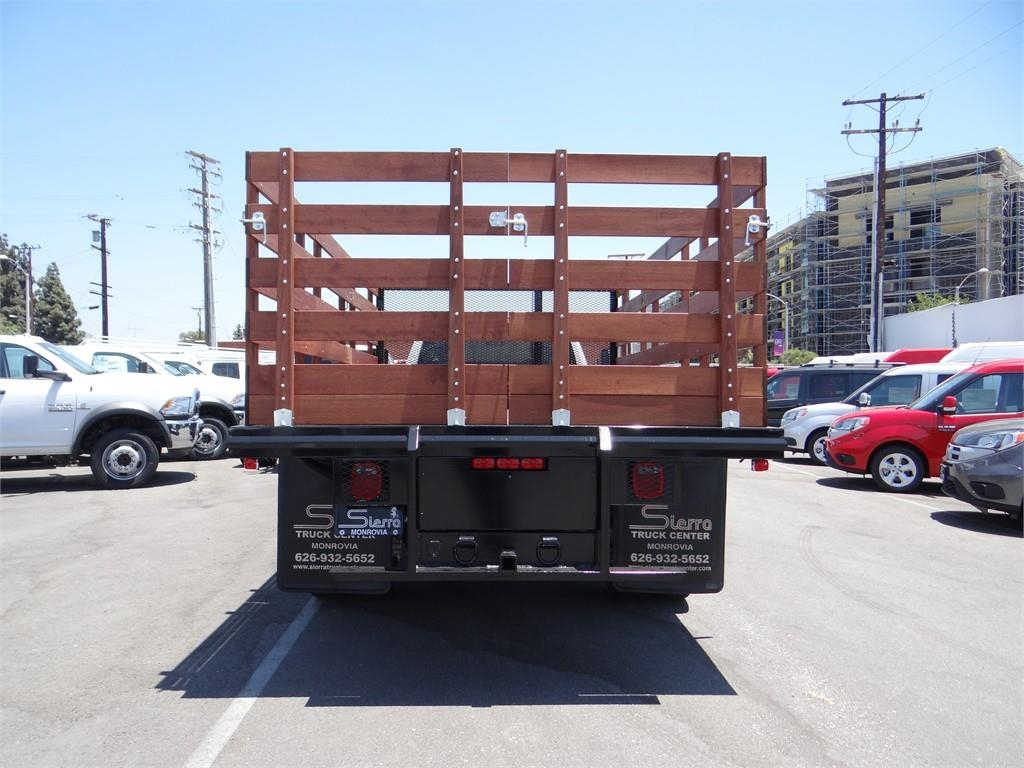 2018 Ram 5500 Regular Cab DRW 4x2,  Martin's Quality Truck Body Stake Bed #R1674T - photo 4