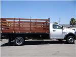 2018 Ram 5500 Regular Cab DRW 4x2,  Martin's Quality Truck Body Stake Bed #R1674T - photo 3