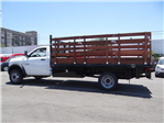 2018 Ram 5500 Regular Cab DRW 4x2,  Martin's Quality Truck Body Stake Bed #R1674T - photo 6