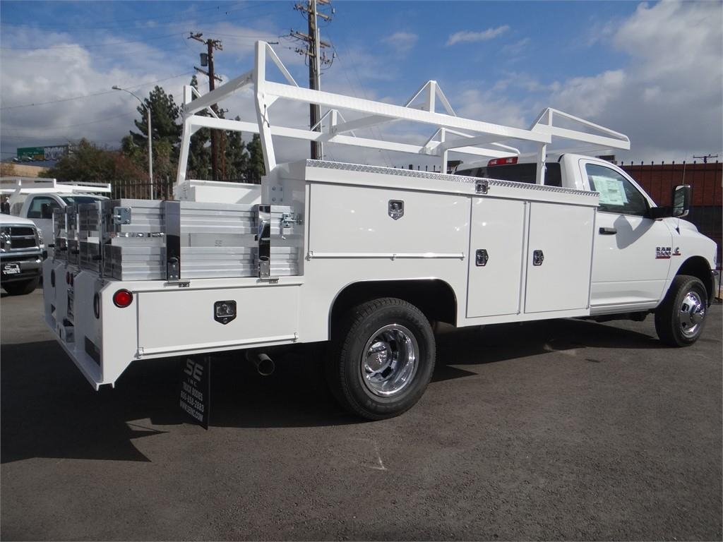 2018 Ram 3500 Regular Cab DRW 4x2,  Scelzi SEC Combo Body #R1879T - photo 2