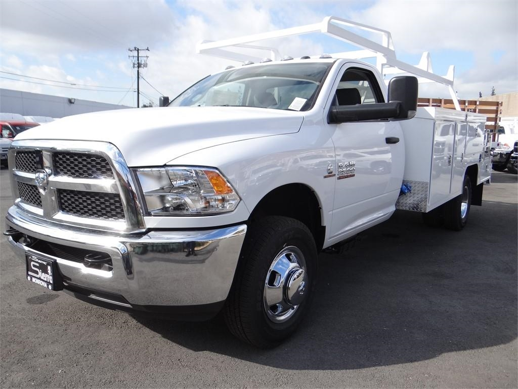 2018 Ram 3500 Regular Cab DRW 4x2,  Scelzi Combo Body #R1879T - photo 7