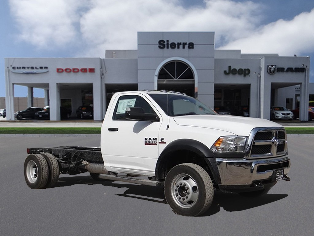 2018 Ram 5500 Regular Cab DRW 4x2,  Cab Chassis #R1880T - photo 1