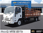 2018 LCF 5500XD Regular Cab,  Martin Truck Bodies Stake Bed #C156765 - photo 1