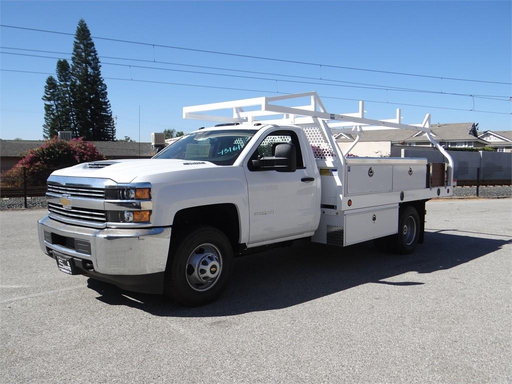 2017 Silverado 3500 Regular Cab 4x2,  Royal Contractor Body #C157319 - photo 7