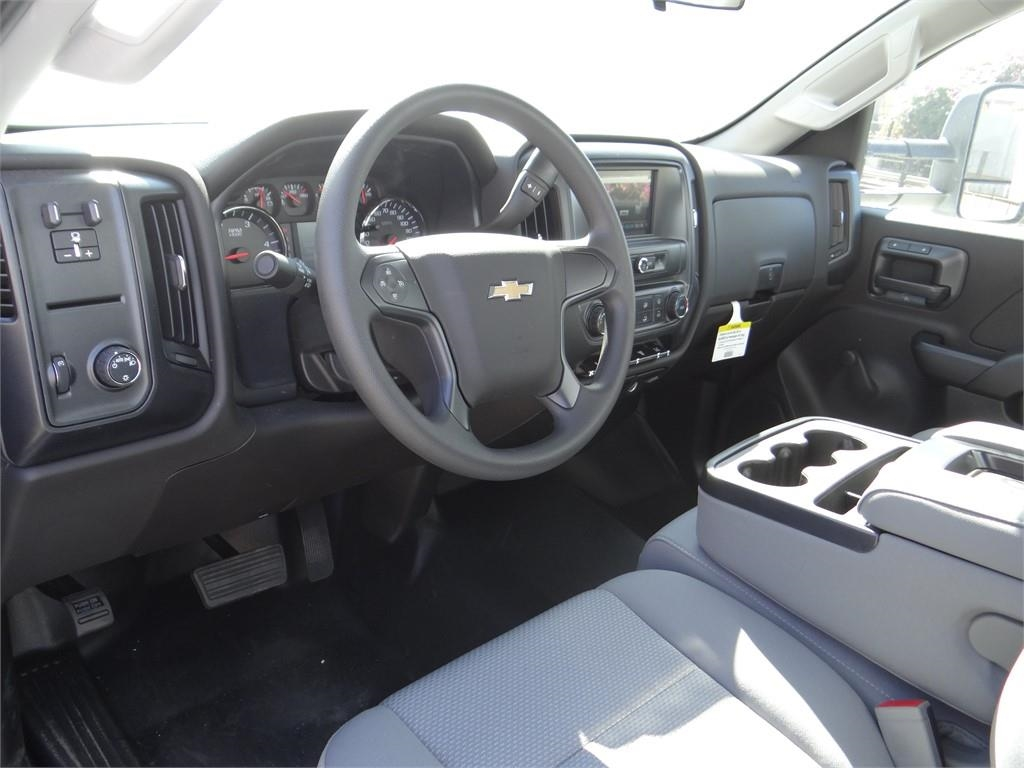 2017 Silverado 3500 Regular Cab 4x2,  Royal Contractor Body #C157319 - photo 8