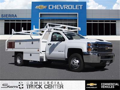 2017 Silverado 3500 Regular Cab 4x2,  Royal Contractor Body #C157319 - photo 1
