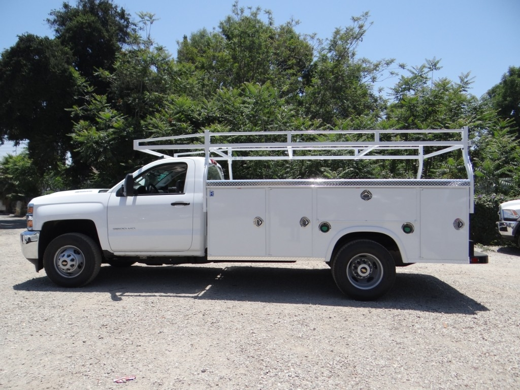 2018 Silverado 3500 Regular Cab 4x2,  Royal Service Body #C157663 - photo 6