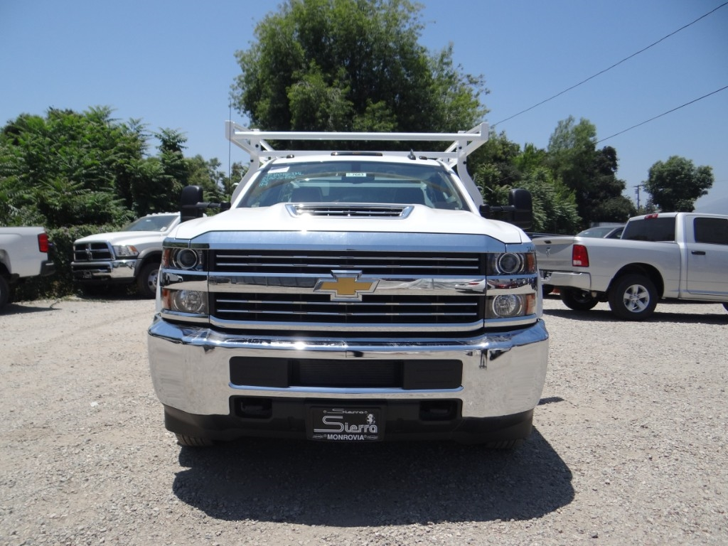 2018 Silverado 3500 Regular Cab 4x2,  Royal Service Body #C157663 - photo 8