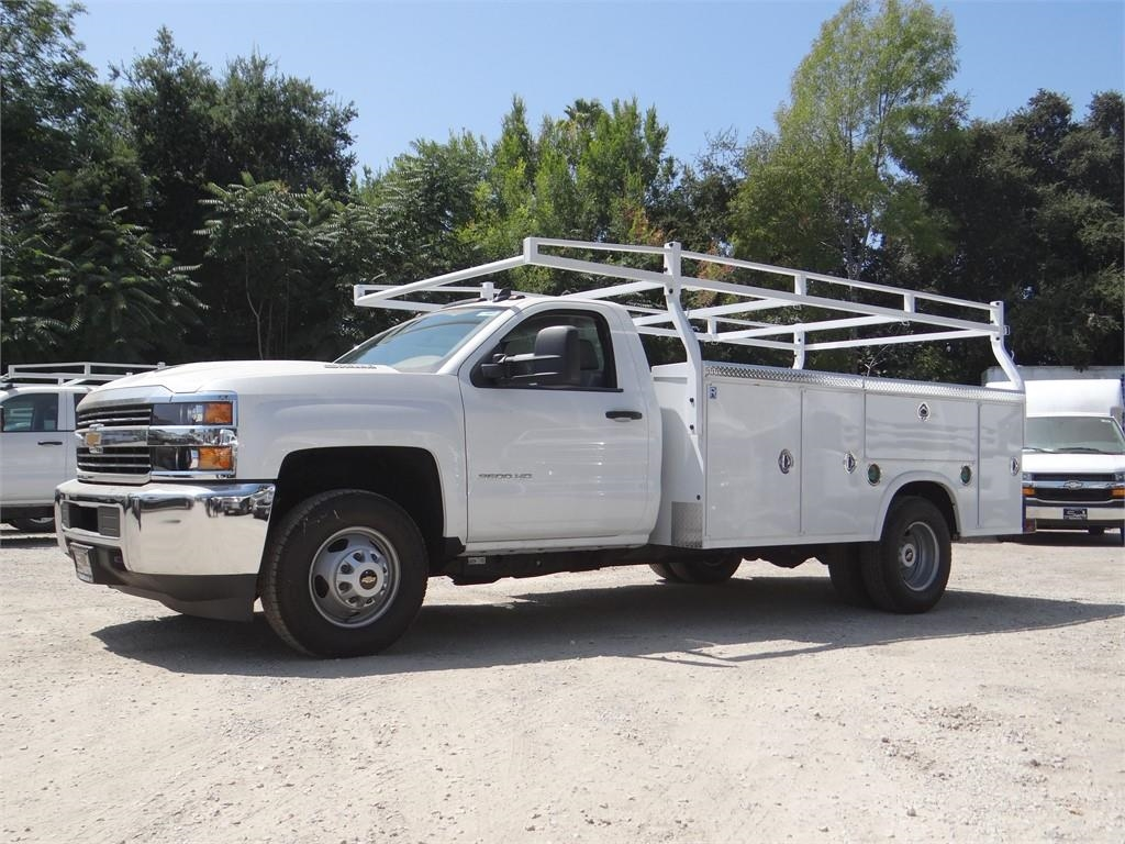 2018 Silverado 3500 Regular Cab 4x2,  Royal Service Body #C157665 - photo 6