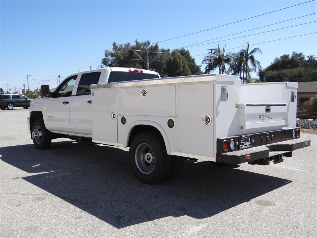 2018 Silverado 3500 Crew Cab 4x2,  Royal Service Body #C157705 - photo 5
