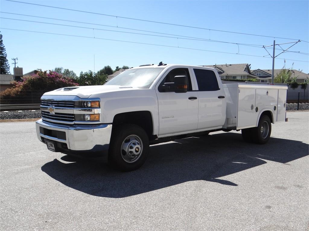 2018 Silverado 3500 Crew Cab 4x2,  Royal Service Body #C157705 - photo 7