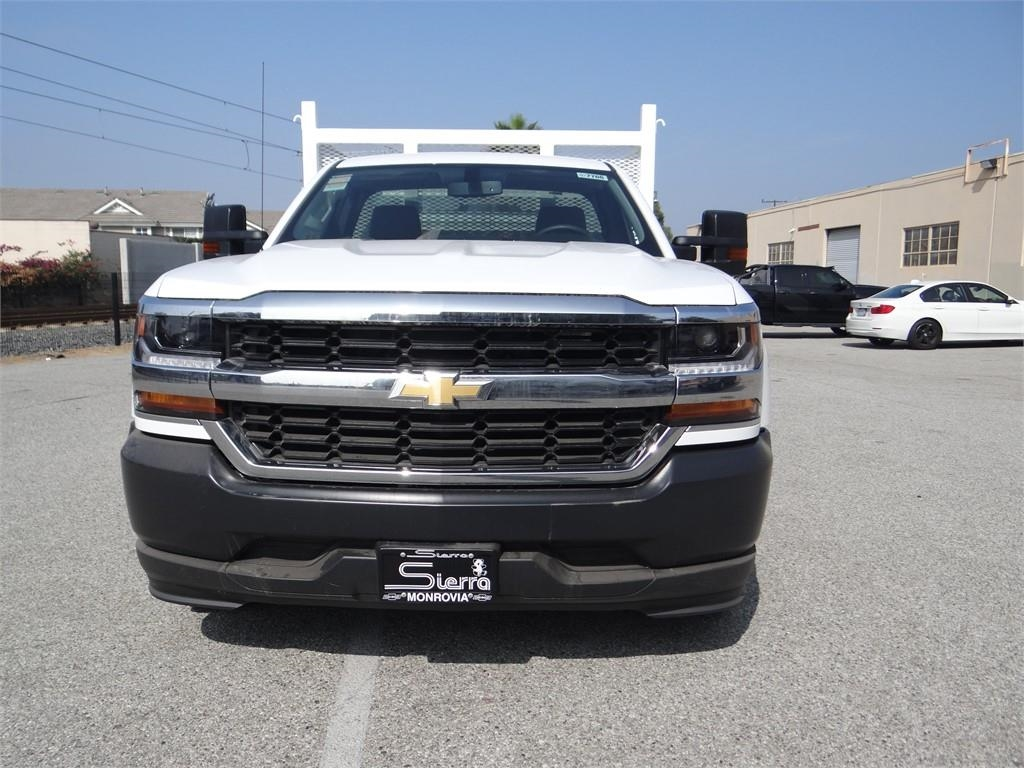 2018 Silverado 1500 Regular Cab 4x2,  Martin's Quality Truck Body Stake Bed #C157766 - photo 8