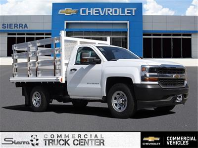 2018 Silverado 1500 Regular Cab 4x2,  Martin's Quality Truck Body Stake Bed #C157766 - photo 1