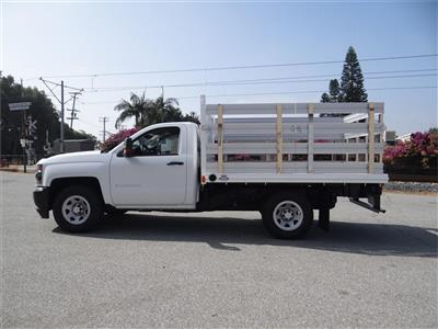 2018 Silverado 1500 Regular Cab 4x2,  Martin's Quality Truck Body Stake Bed #C157766 - photo 6