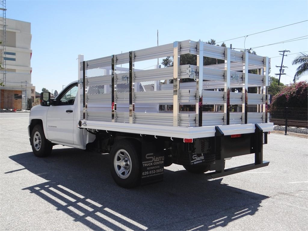 2018 Silverado 1500 Regular Cab 4x2,  Martin's Quality Truck Body Stake Bed #C157786 - photo 5