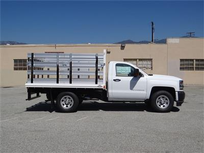 2018 Silverado 1500 Regular Cab 4x2,  Martin's Quality Truck Body Stake Bed #C157786 - photo 3