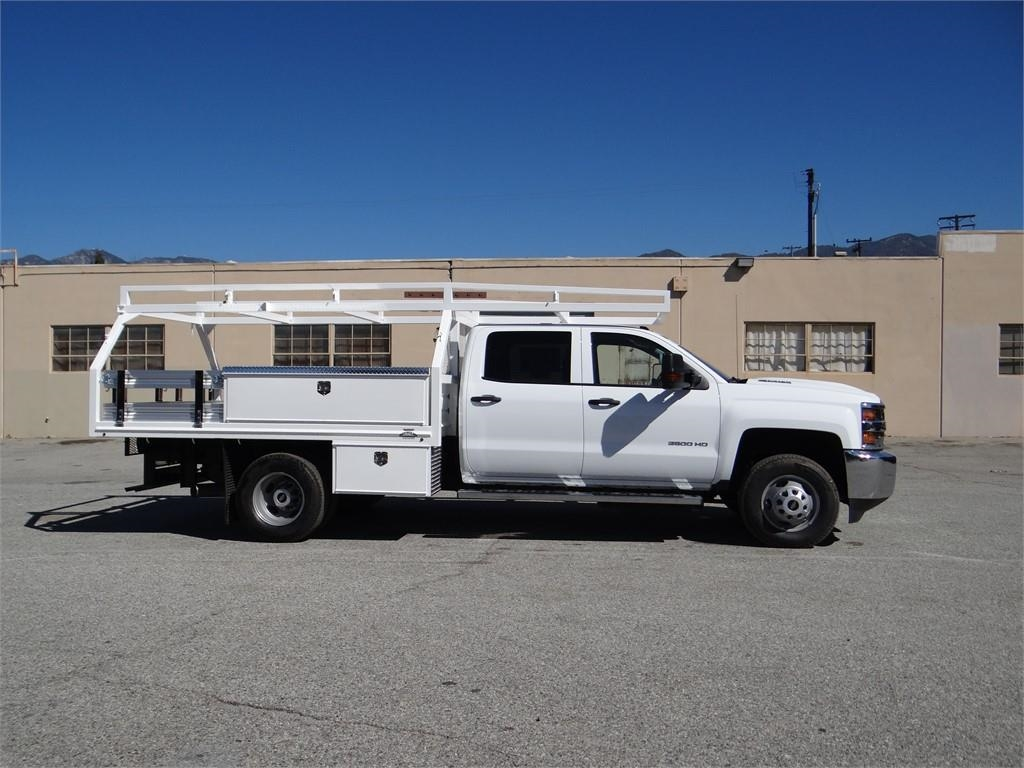 2018 Silverado 3500 Crew Cab 4x2,  Martin's Quality Truck Body Contractor Body #C157806 - photo 3