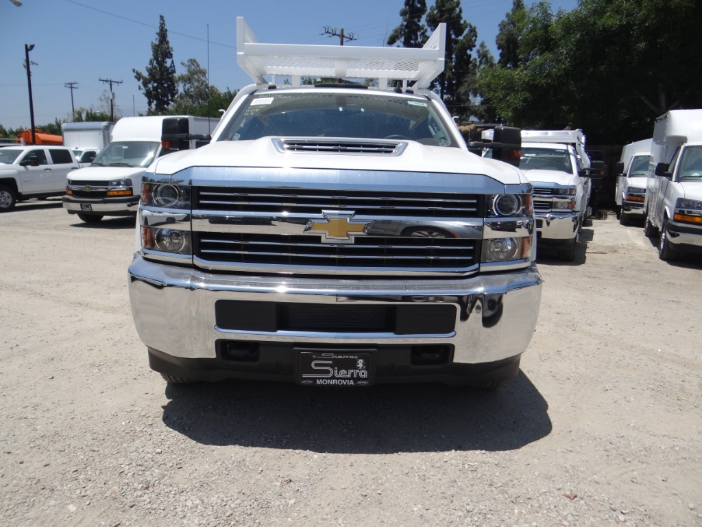 2018 Silverado 3500 Regular Cab 4x2,  Royal Contractor Body #C157854 - photo 7