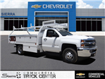 2018 Silverado 3500 Regular Cab 4x2,  Royal Contractor Body #C157854 - photo 1