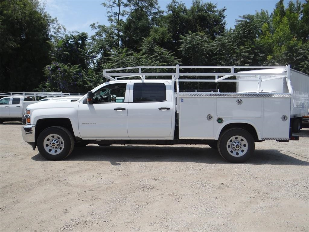 2019 Silverado 3500 Crew Cab 4x2,  Royal Service Body #C158049 - photo 6