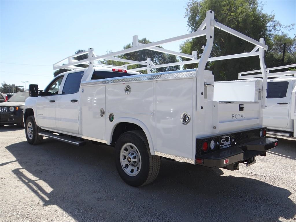 2019 Silverado 3500 Crew Cab 4x2,  Royal Service Body #C158233 - photo 5