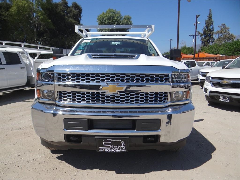 2019 Silverado 3500 Crew Cab 4x2,  Royal Service Body #C158233 - photo 8