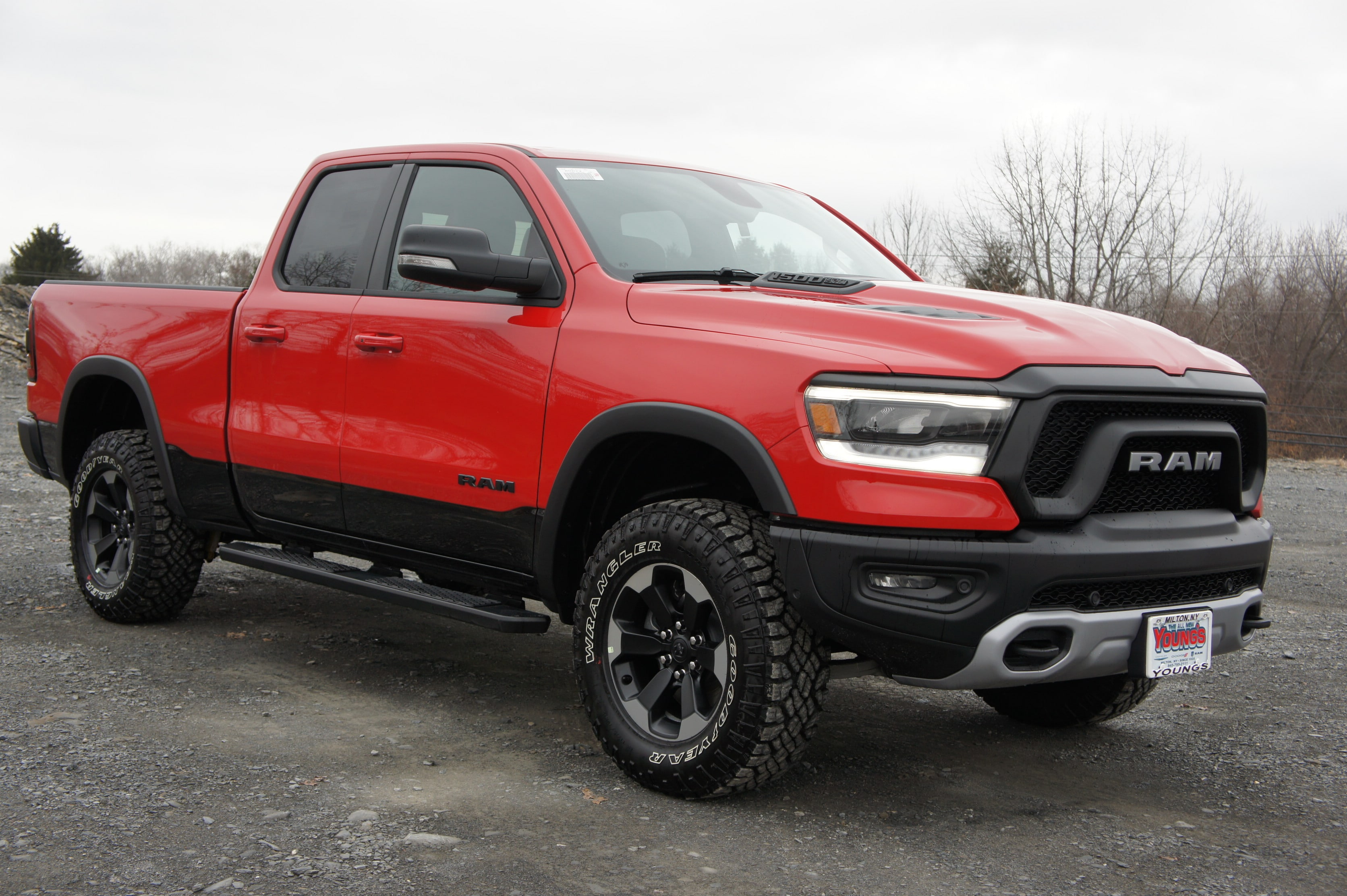 2019 Ram 1500 Quad Cab 4x4,  Pickup #KN670901 - photo 5