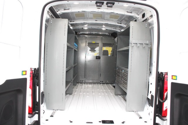 2018 Transit 250 Med Roof 4x2,  Upfitted Cargo Van #CF8151 - photo 2