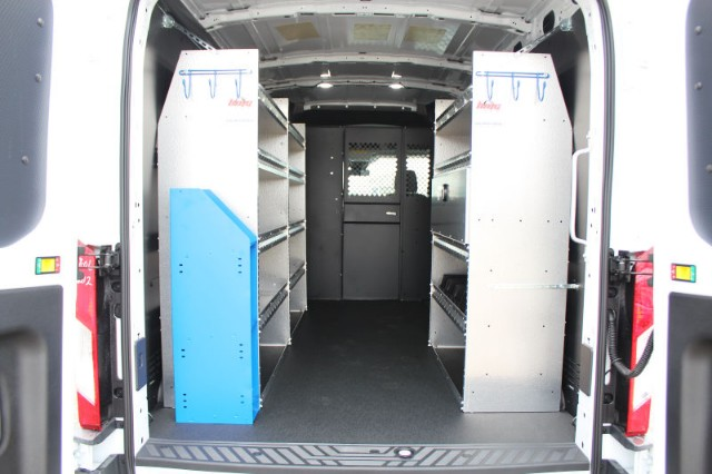 2018 Transit 350 Med Roof 4x2,  Masterack Upfitted Cargo Van #CF8216 - photo 2